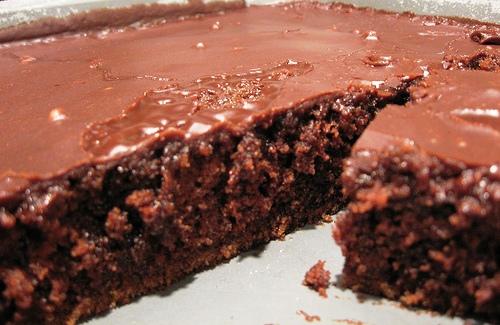 Texas Sheet Cake Recipe No Preheat