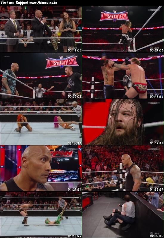 WWE Monday Night Raw 25 Jan 2016 HDTV 480p 500MB