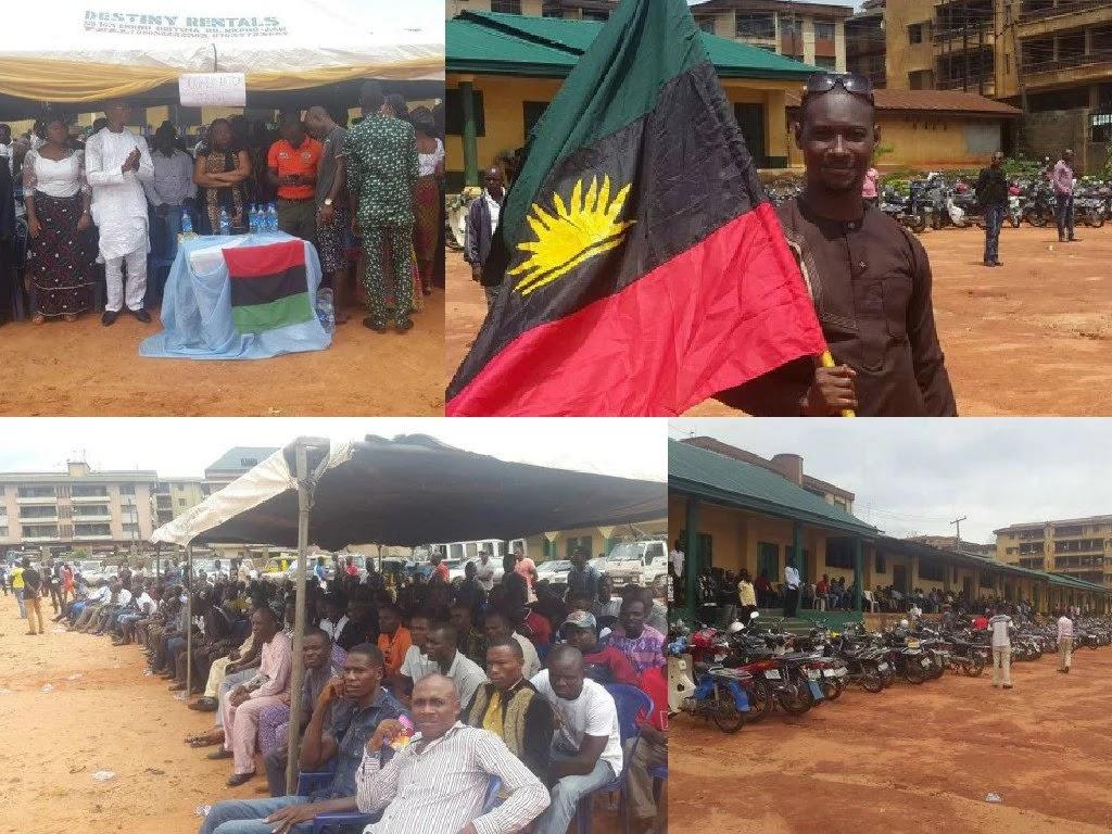 police kills biafrans onitsha