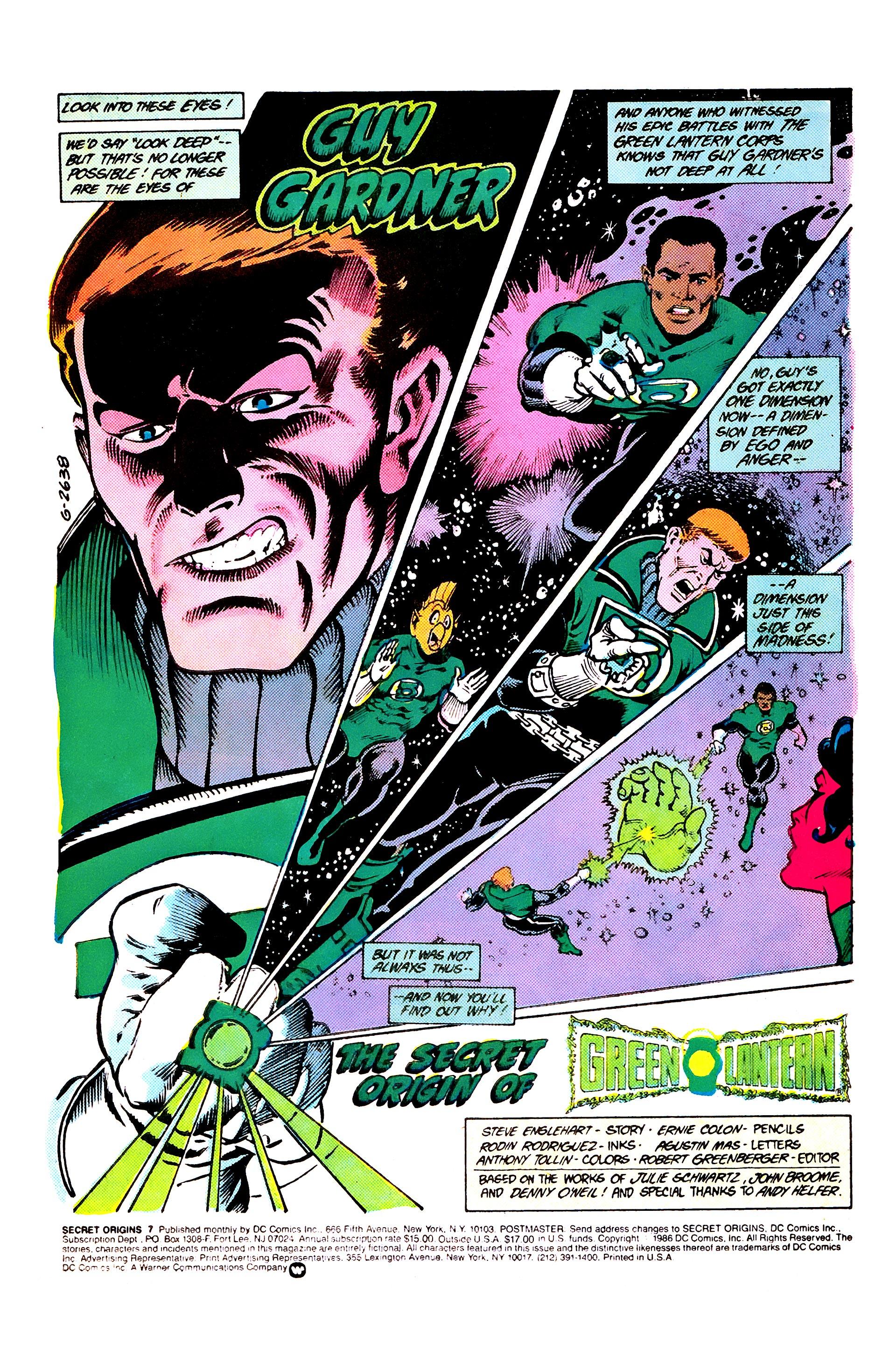 Read online Secret Origins (1986) comic -  Issue #7 - 3