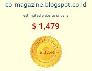 harga blog cb magazine