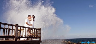 nuansa romantis wisata water blow