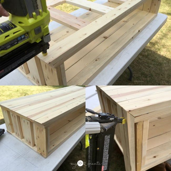 adding top and side boards