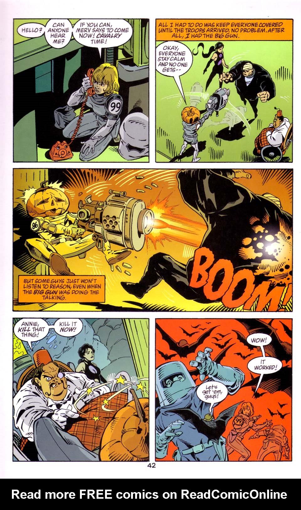 Read online Merv Pumpkinhead, Agent of D.R.E.A.M. comic -  Issue # Full - 42