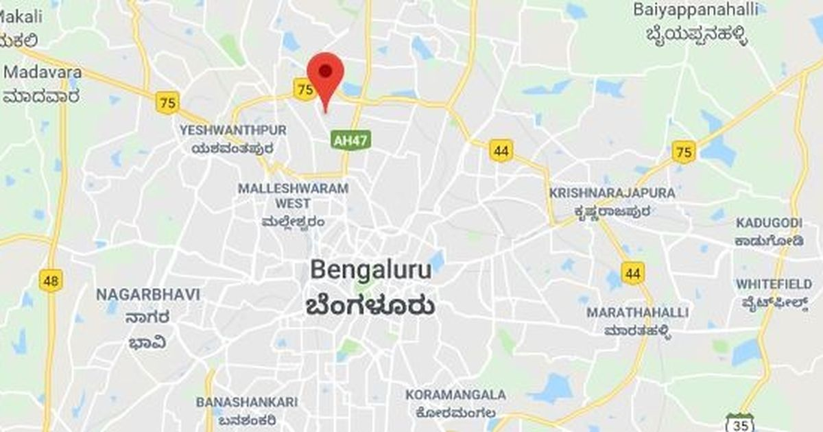 Image result for bangalore google map location