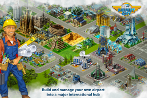 Airport City MOD APK v4.10.10 Unlimited Money Terbaru