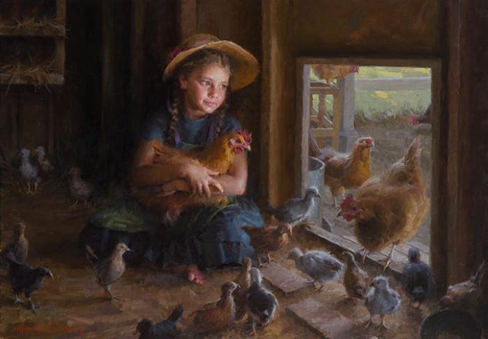 Американский художник. Morgan Weistling 7