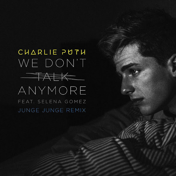 Charlie Puth - We Don't Talk Anymore (feat. Selena Gomez) [Junge Junge Remix] - Single Cover
