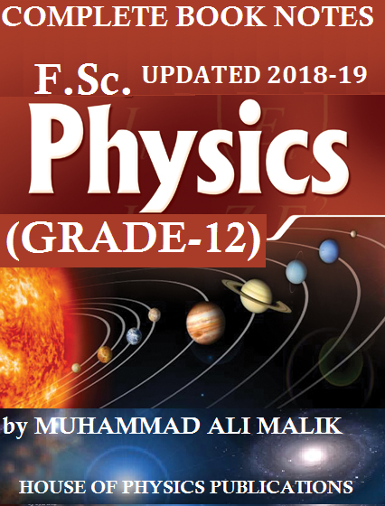 F Sc  PHYSICS (2ND YEAR), COMPLETE PHYSICS NOTES (THEORY+EXERCISES