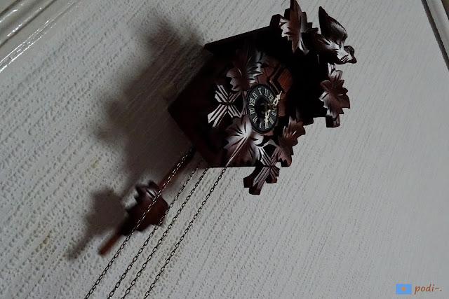 reloj cucú proviniente de la Selva Negra