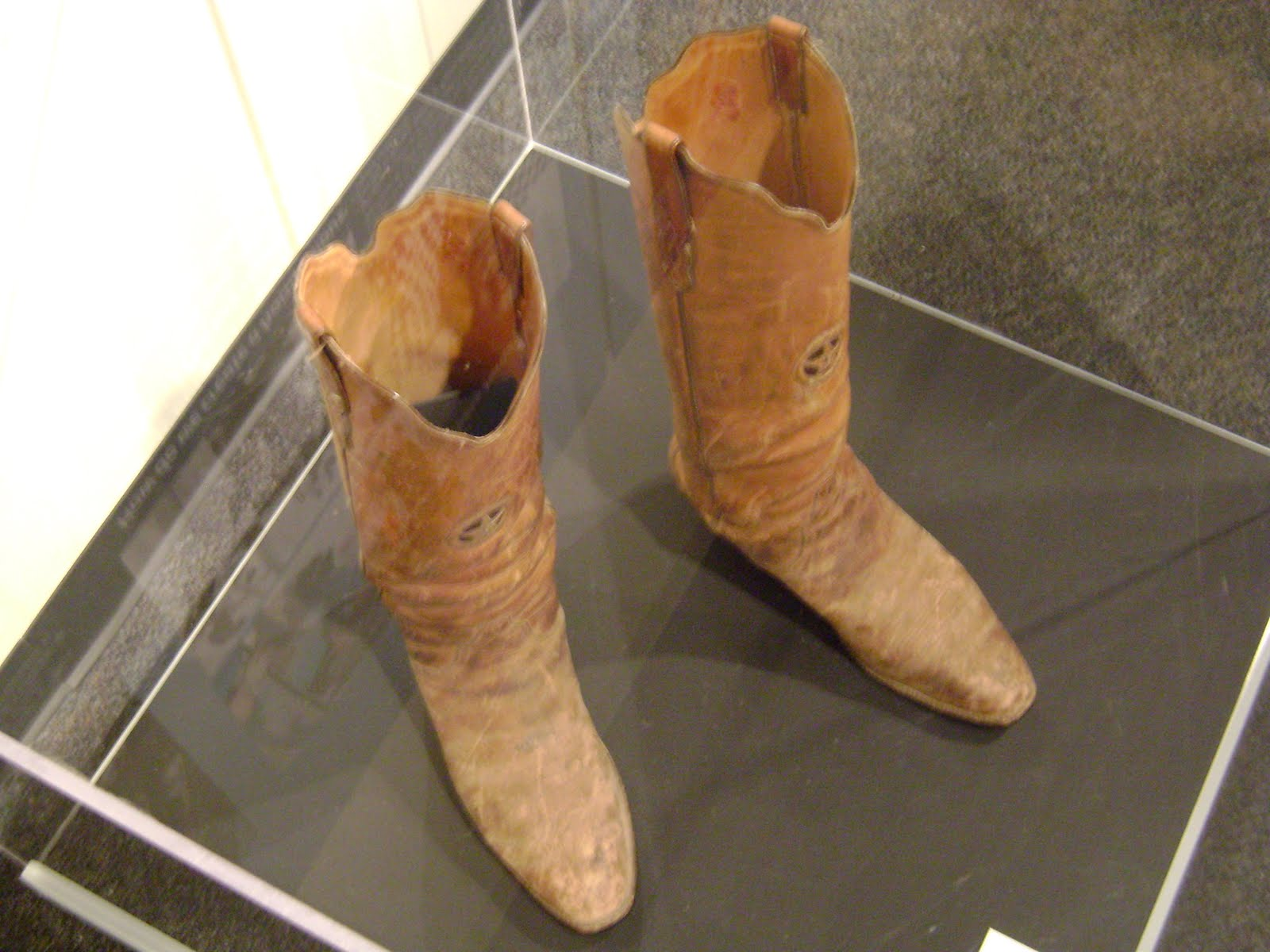 Buffalo Soldier's Hat and Boots of A Texas Ranger | San