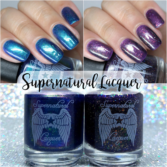 Supernatural Lacquer - Birthday Box and Cosmic Peacock