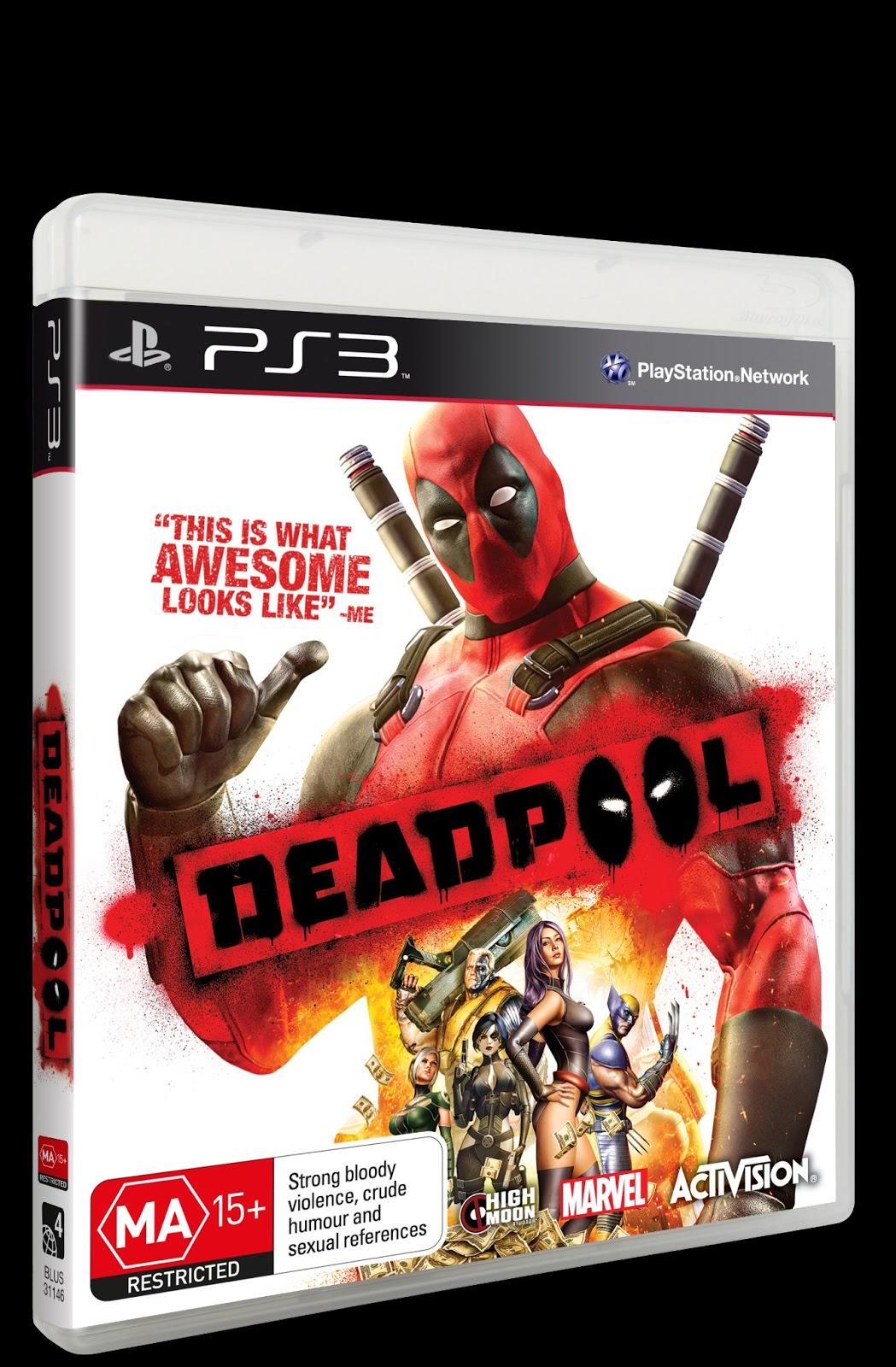 All Star Comics Melbourne Deadpool Ps3 Xbox360 Game Giveaway
