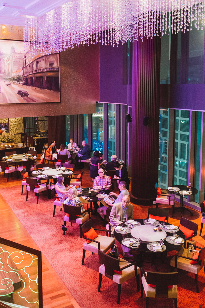 Dining at Shanghai Club Doha