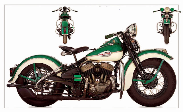 Harley Davidson 1941 WLD Sport Solo
