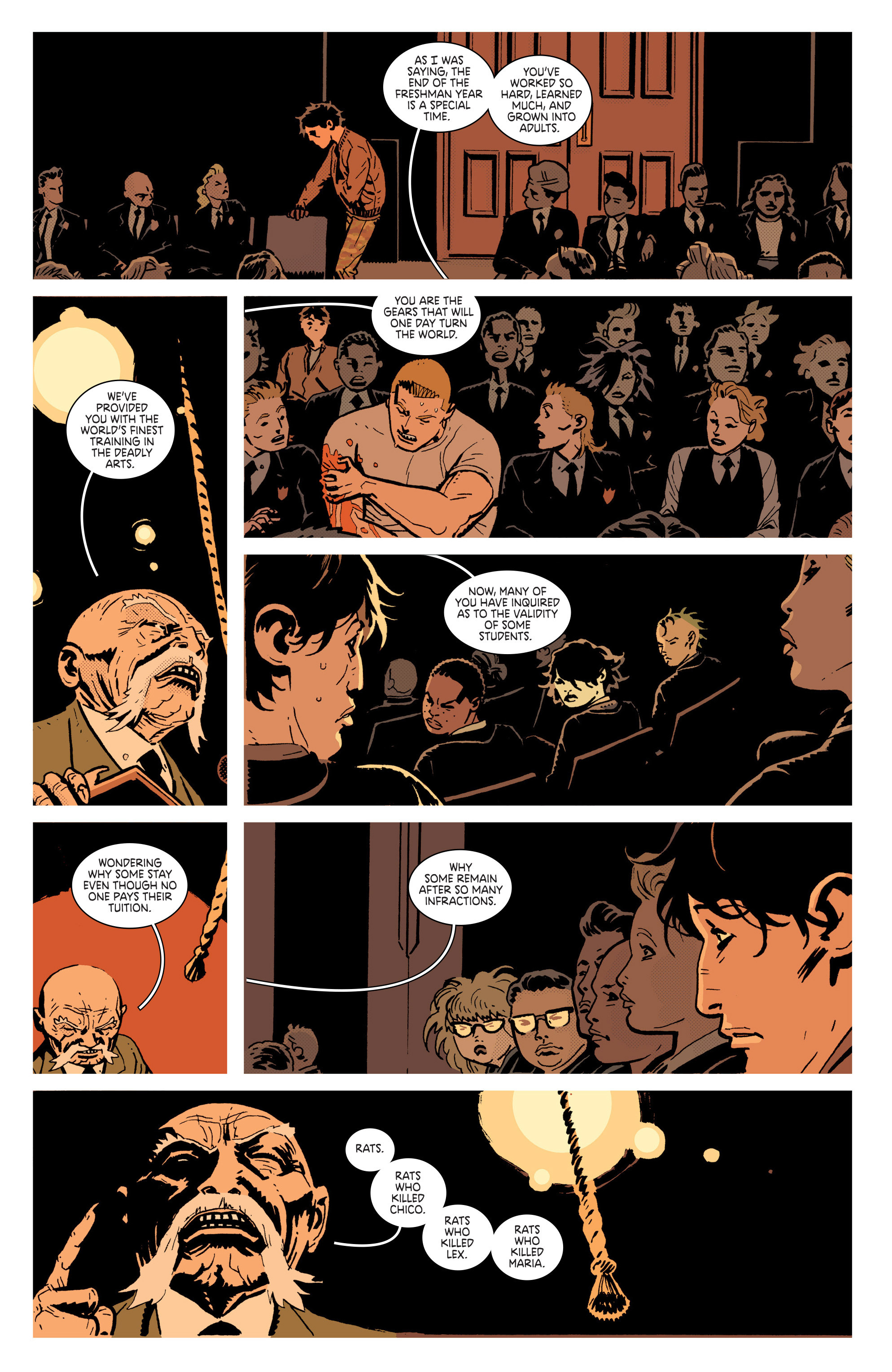 Read online Deadly Class comic -  Issue # _TPB 3 - 109
