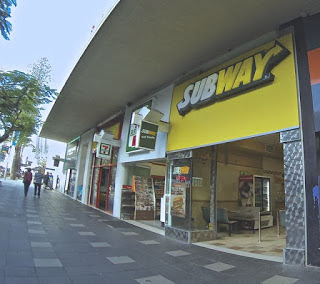 Subway Restaurant Paradise Centre