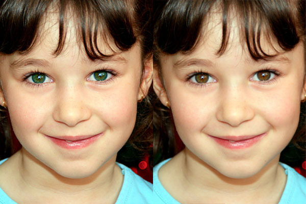 Picture editing how to change eye color in photoshop photoshop change eye color ccuart Images