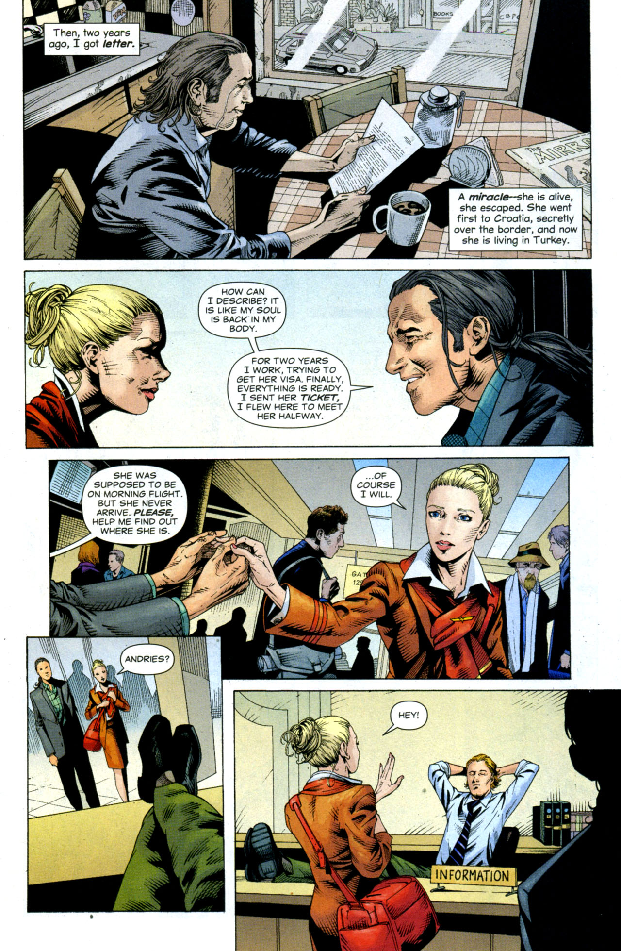 Read online Air comic -  Issue #9 - 8