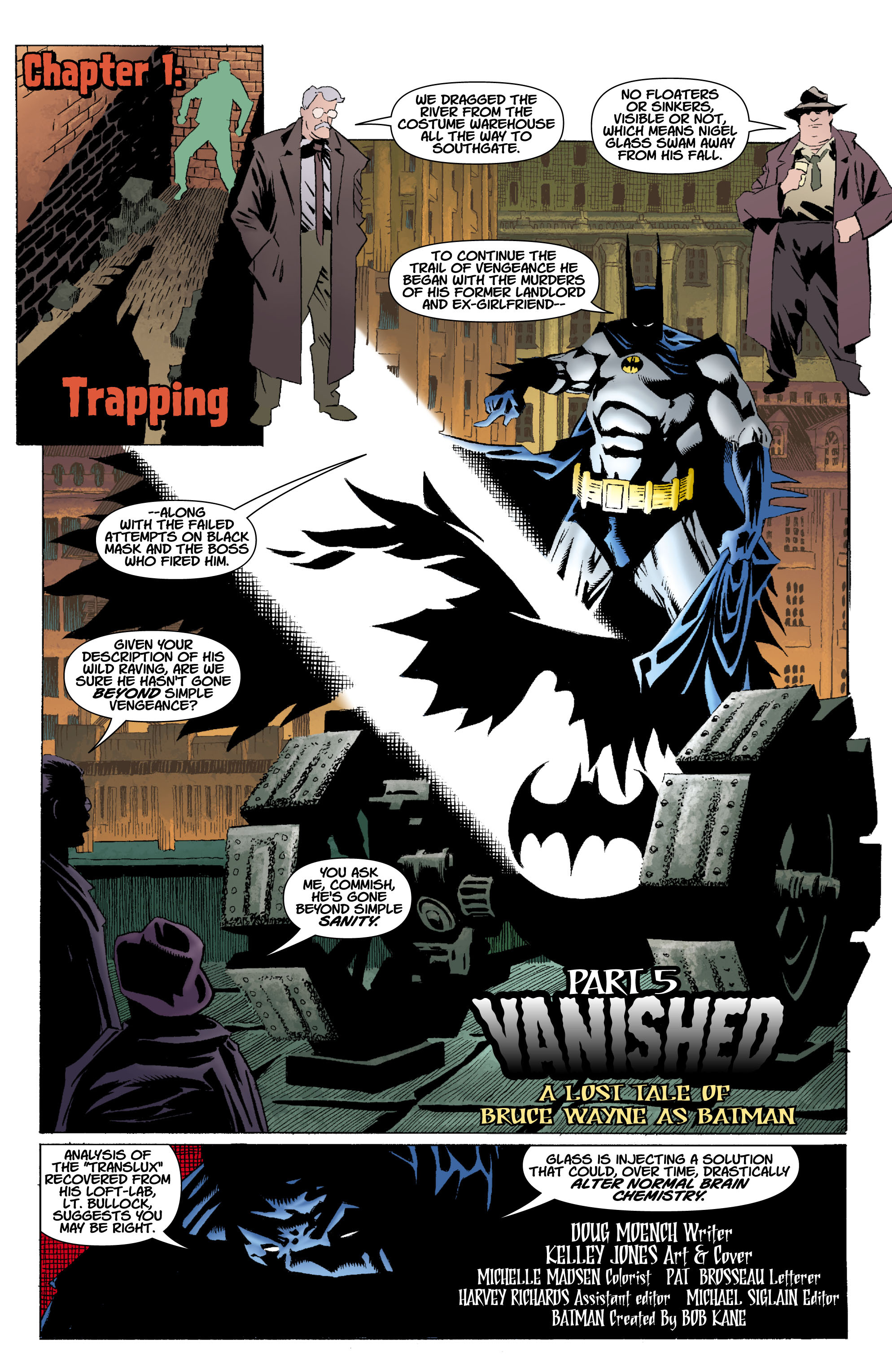 Read online Batman: Unseen comic -  Issue #5 - 2