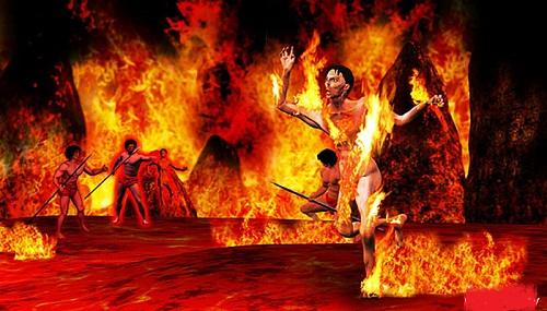 Taptamurti( Burnt Alive)