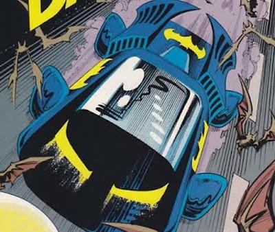 Norm Breyfogle Batman Batmobile