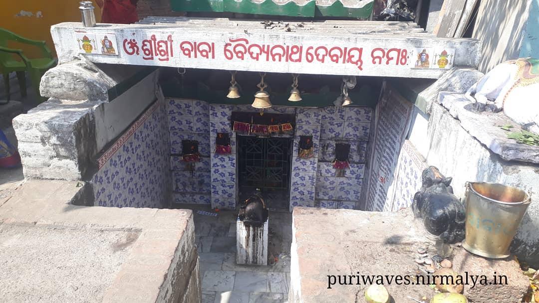 Vaidyanath Shiva Temple, Puri Odisha