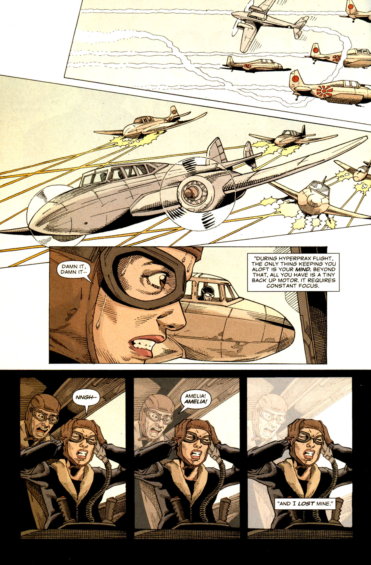 Read online Air comic -  Issue #6 - 8
