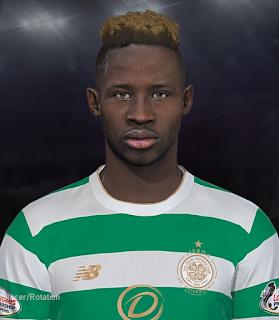 PES 2018 Faces Moussa Dembélé by Prince Hamiz