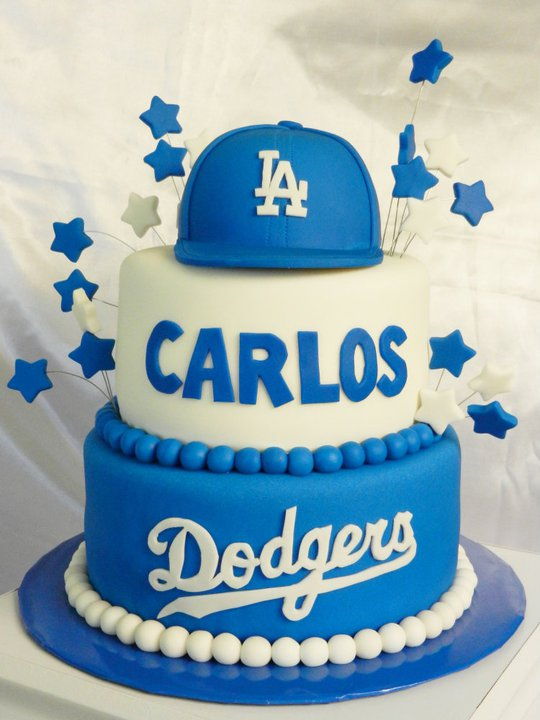Ally Sweet Creations Sports Theme Cakes