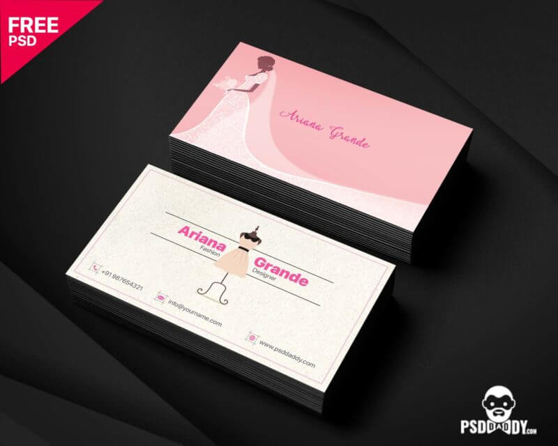 95+ Best Fashion Business Card Templates | Free & Premium