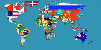 mapa mundi de las del mundo