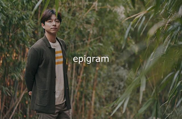 孔劉代言epigram 2018年春夏服裝一覽