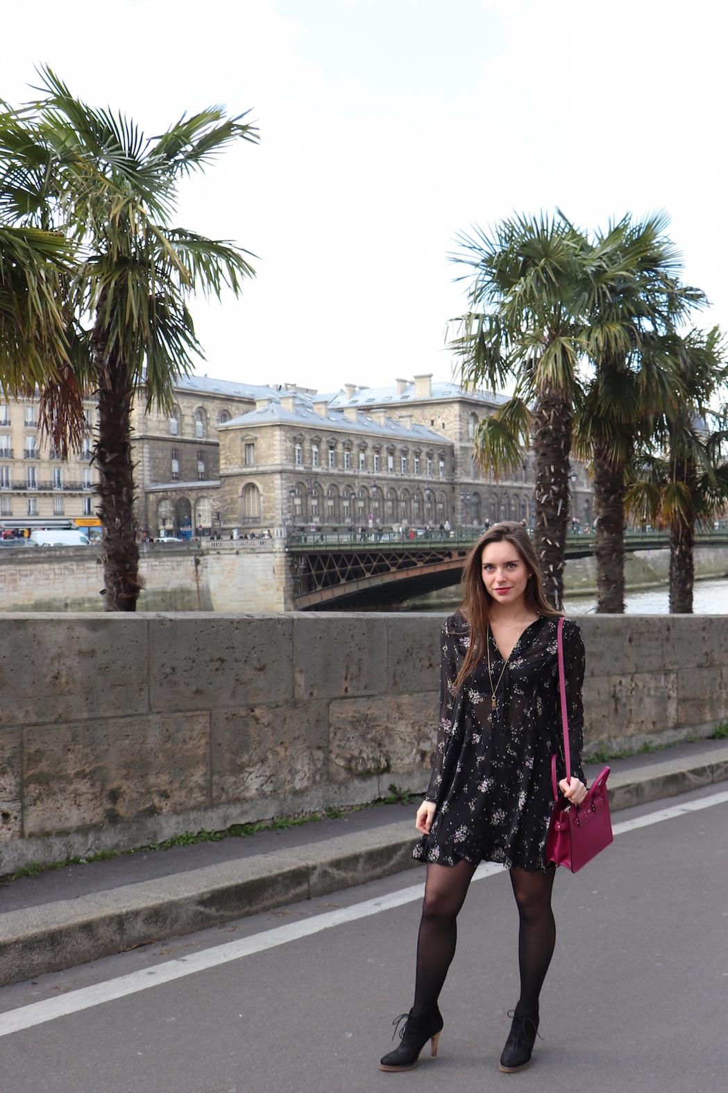 robe volantée H&M 3