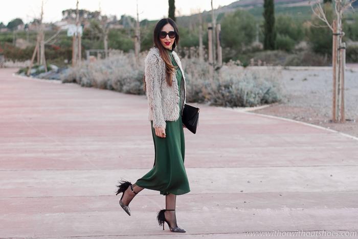 blogger influencer con idea de look de Invitada perfecta para ocasiones especiales comodo sencillo elegante