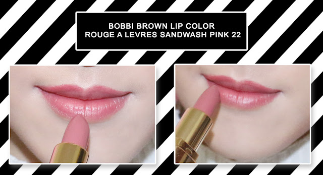Bobbi Brown Lip Color Rouge à Lèvres - Sandwash Pink 22