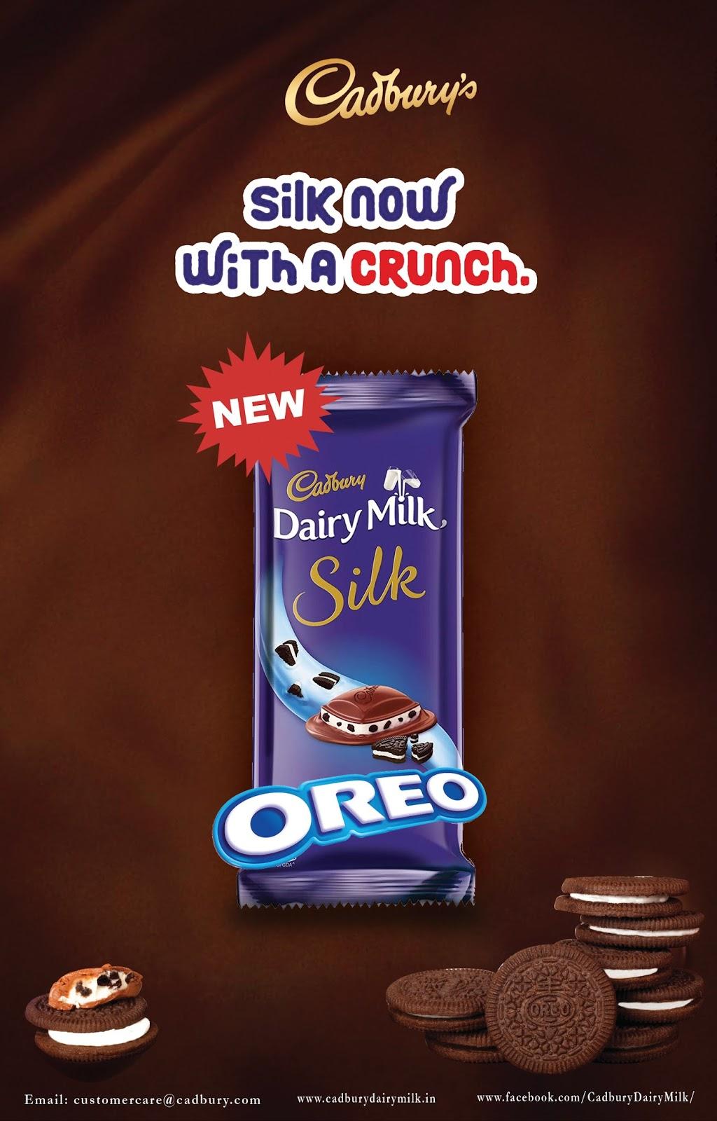 Print Ad For Diary Milk Silk Oreo
