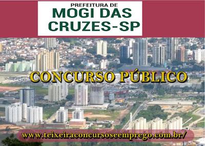 Concurso Público da Prefeitura Mogi das Cruzes 2019