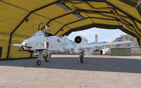 Arma3用A-10攻撃機MODのA-10C