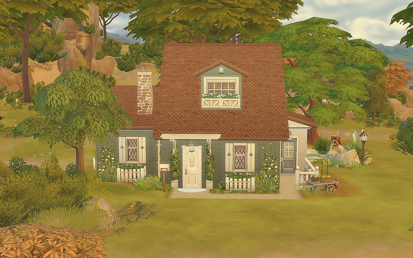 Casa Hippies : House 21 the sims 4 via sims