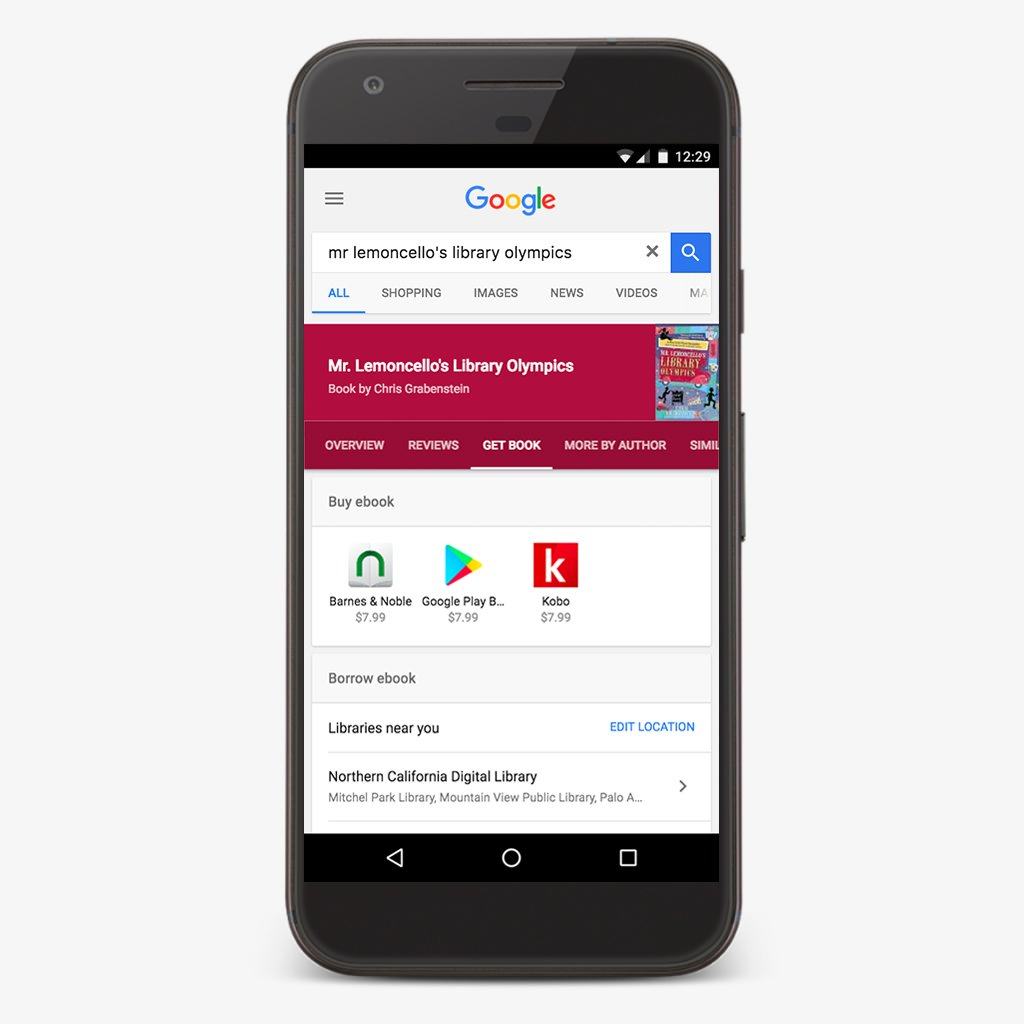 Mono live september 2017 how you can use google search to find ebooks available at your local library fandeluxe Choice Image