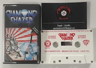 """Το βίντεο των Diamond Chazer για το """"Breakin' The Chains"""" από το ep """"Chained in Tokyo"""""""