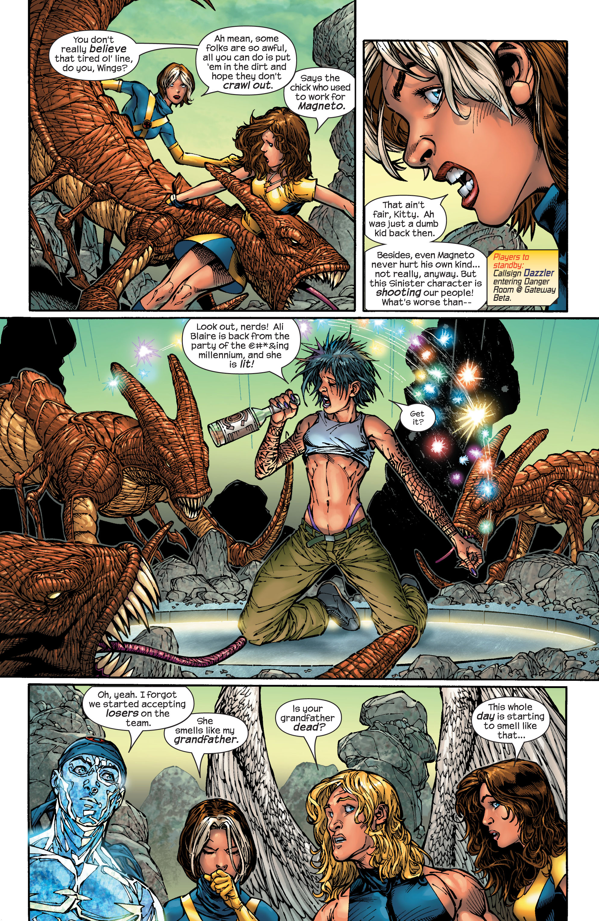 Read online Ultimate X-Men comic -  Issue #48 - 5