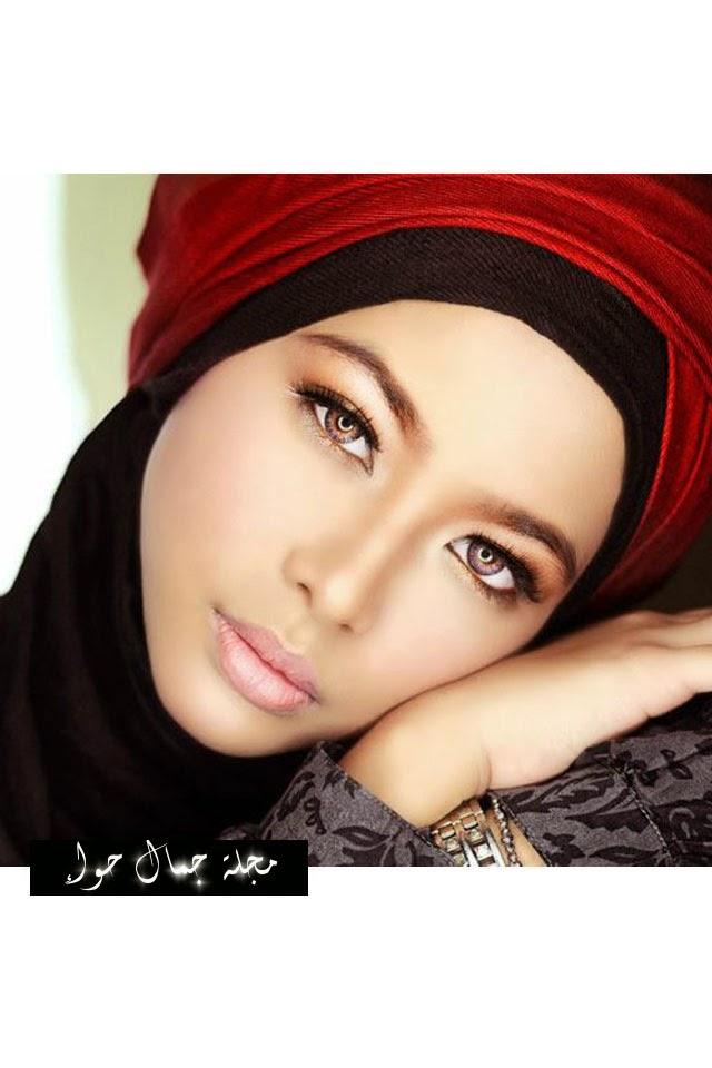 أهم 10 نصائح مكياج للمحجبات  hijab make up  tips