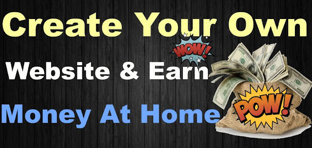 Earn money By Create your Own website