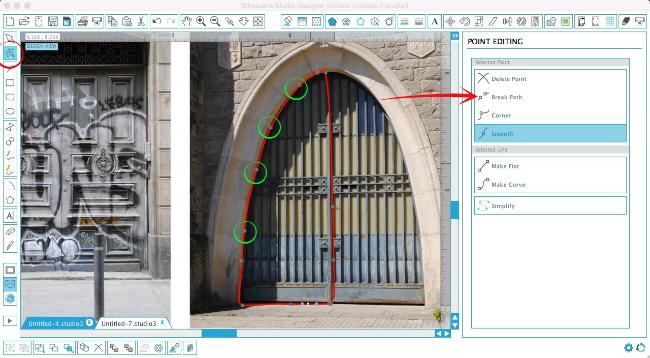 Silhouette Cameo, Silhouette print and cut, 3D door art, Silhouette Studio