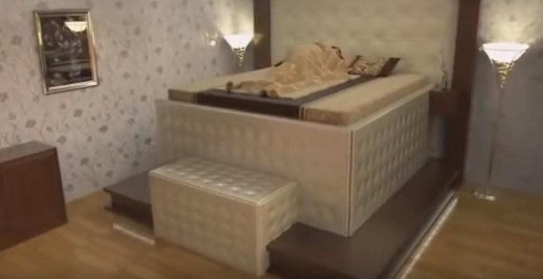 Ecco il letto anti terremoto ci dormireste 20miglia com - Letto anti terremoto ...