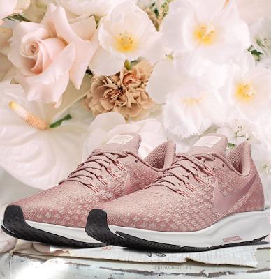 Tênis Nike rosa air