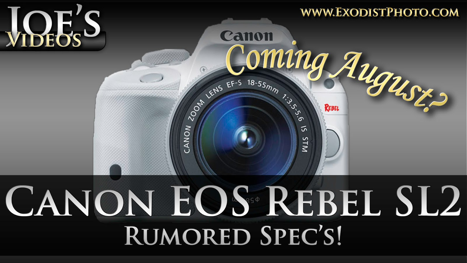 Canon EOS Rebel SL2 (110D, 150D) Coming This August, Rumored