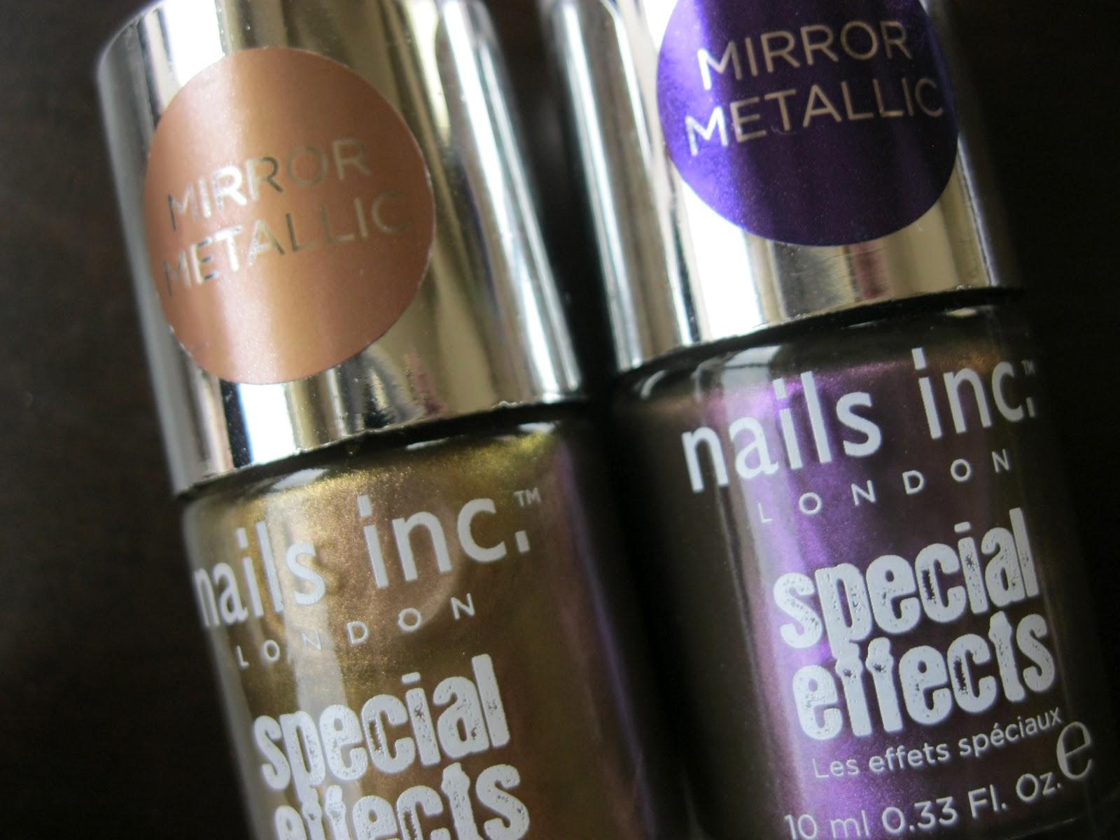 The Lacquer Tracker: Nails Inc Mirror Metallic Nail Polish ...